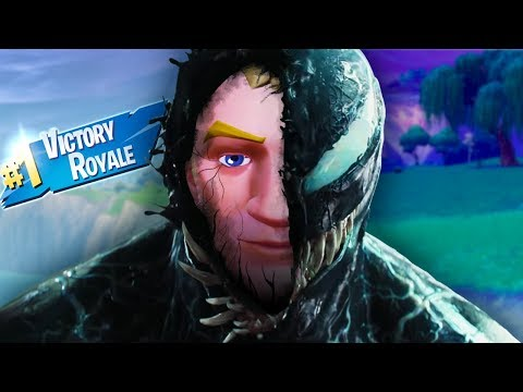 The voice of VENOM plays Fortnite!