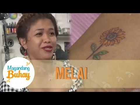 Momshie Melai gets a sunflower tattoo | Magandang Buhay