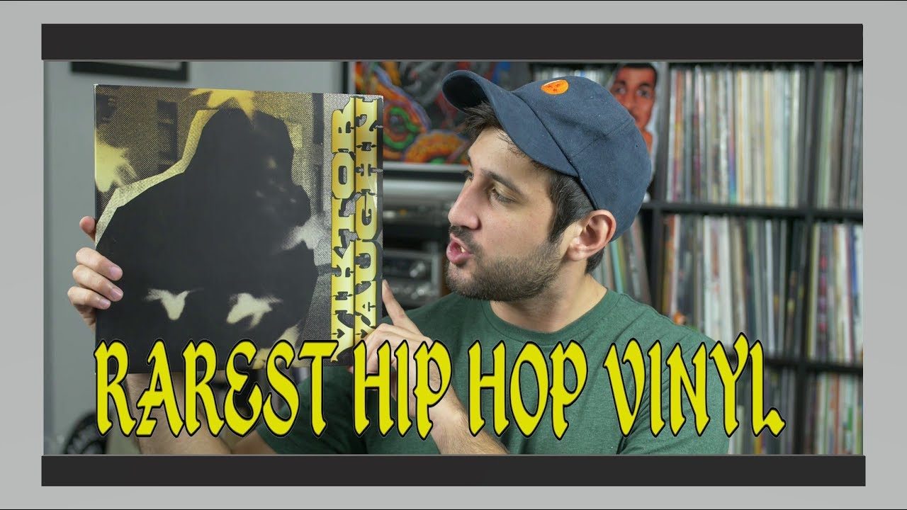 Top 5 RAREST Hip Hop Vinyl Records!