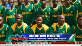 Cricket Devt. In Nigeria: Anosike Says Sports Not Getting Right Support
