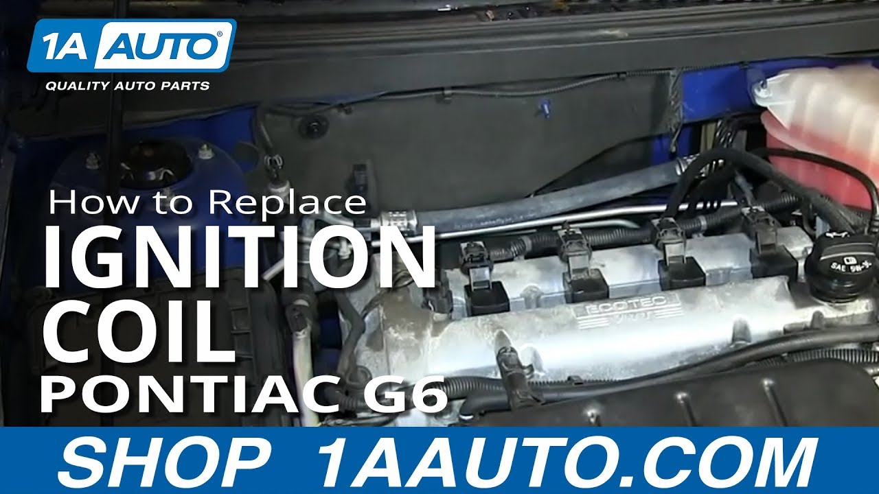 How To Install Replace Engine Ignition Coil 24l Pontiac G6 Saturn 2007 Ion Headlight Wiring Diagram Aura Youtube