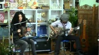 """さんないミュージックフェスタに出演するブルースユニット""""Rocket☆Hopper""""の演奏です。 (この映像は、2011年6月5日(日)の大仙市大曲のグリーンロッジさんで行われた ..."""