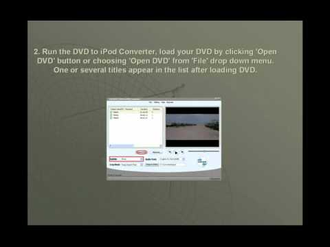 How To Convert Videos To IPod Touch/Classic/Nano