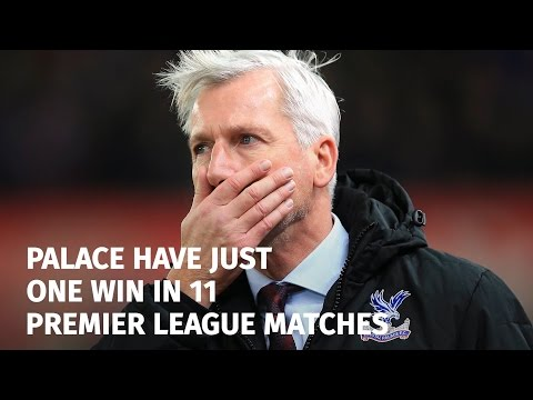 Crystal Palace Sack Manager Alan Pardew