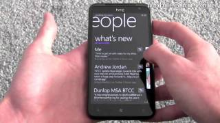 HTC Titan WP7 Mango smartphone tour - part 1 of 2