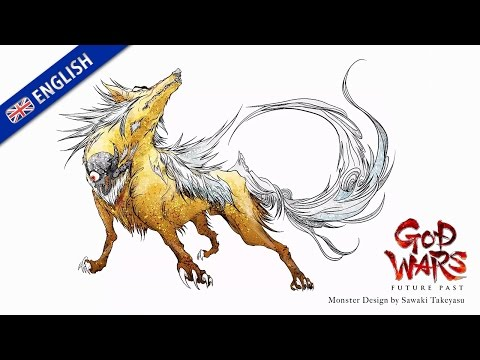 GOD WARS Future Past — Concept Illustration Video (PS4, PS Vita)(EU - English)