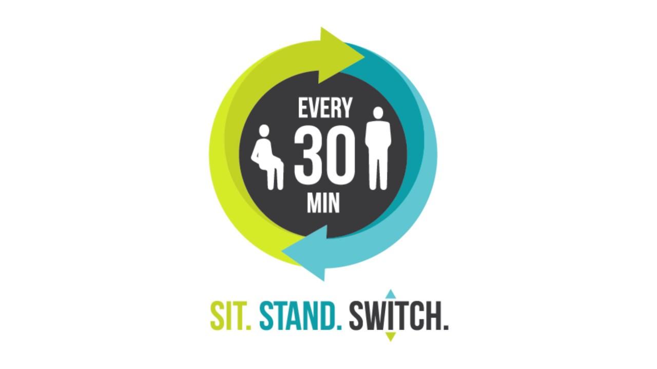 In Motion Ergotron Workfit S Sit Stand Desk Youtube