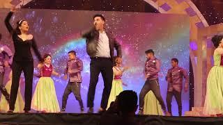 আরটিভি লাইভে যেভাবে নেচে স্টেজ মাতালো সজল ও মম rtv star award :: Swadesh tv
