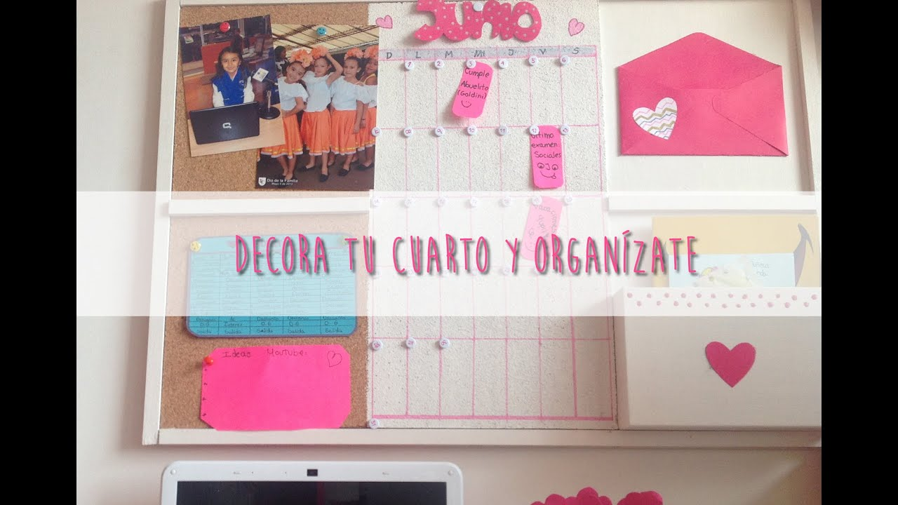Decora tu cuarto y organ zate sophie giraldo youtube for Hacer decoraciones para mi cuarto