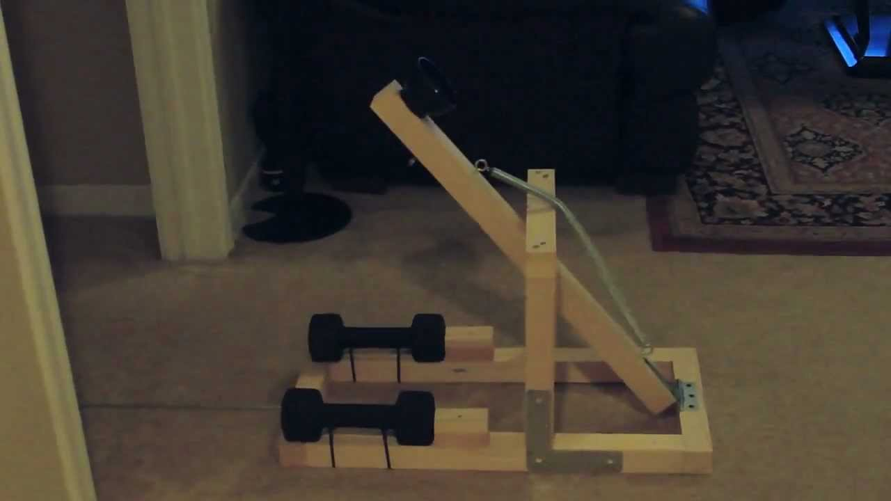 Catapult project youtube for Catapult design plans for physics