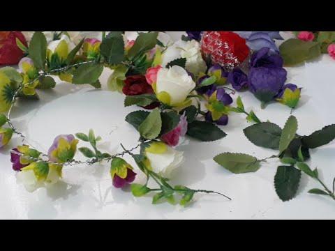 """Coroas De Flores - As Folhas """"Dicas"""""""