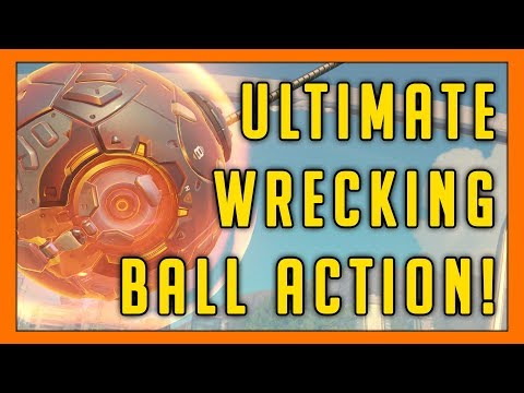 The Ultimate Wrecking Ball Action - Seagull - Overwatch