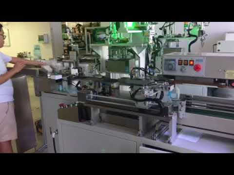 Infusion set Coiling and packaging machine