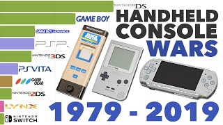 Best-Selling Handheld Consoles 1979 - 2019