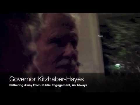 Oregon Governor Kitzhaber-Hayes Makes Mad Dash For SUV