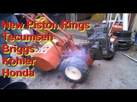 How To Measure Piston Ring Gap And Specs For Lawn Mowe