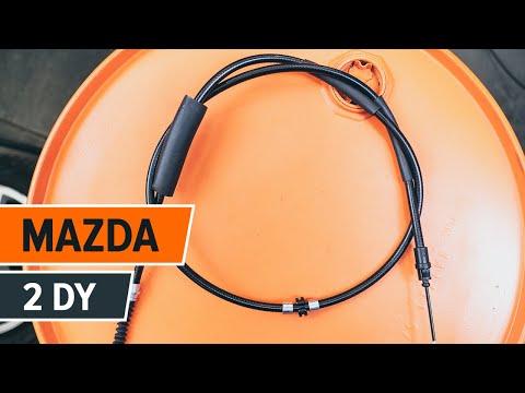 Instrucción: Cómo cambiar Cable del freno de mano en MAZDA 2 DY