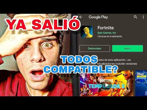 YA SALIO Fortnite Para TODOS Los Dispositivos  !!! Como JUGAR A FORTNITE En Android NO COMPATIBLE 🔥