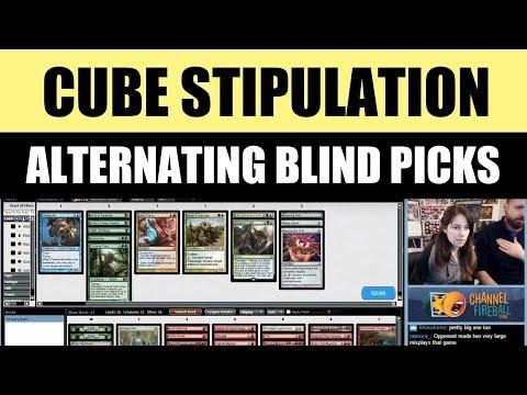 Vintage Cube Stipulation Draft - Alternating Blind Picks featuring LSV / Magic: The Gathering