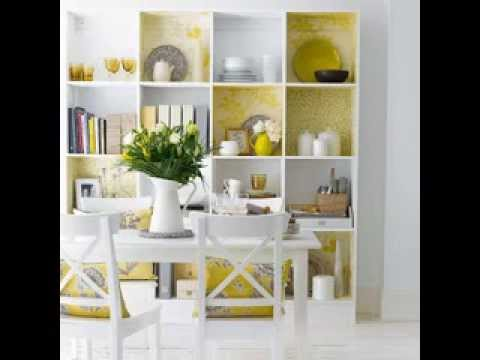 Bookshelf home design decor ideas - YouTube