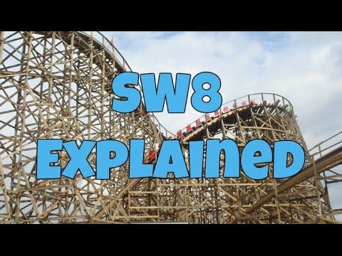 SW8 - Alton Towers 2018 Wooden Roller Coaster Explained