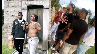 42 Dugg Blac Youngsta Yo Gotti Shoot A Movie At Cemetary In ATL