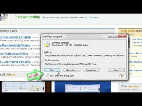 Hướng dẫn cài phần mềm đổi đuôi video