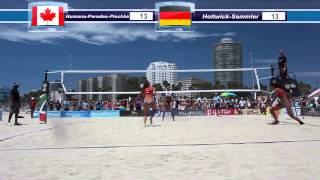 FIVB 2014 Long Beach: Ger vs CAN Womens Round 1 - 3rd Set