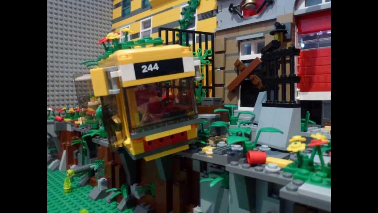 how to make a lego zombie car
