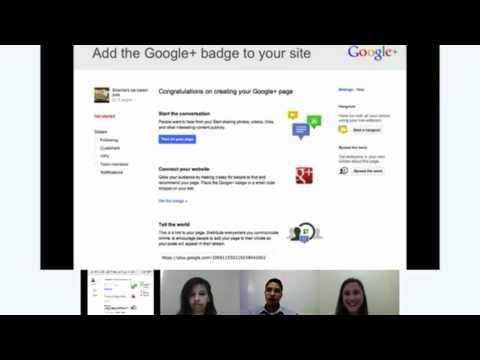 Hangouts On Air: GOMC Learning Series, Part 1 - Growing your business with Google+