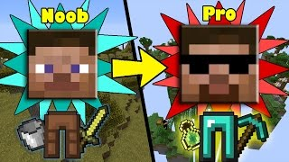 Ways how ANYONE can Transform from NOOB to PRO in Minecraft