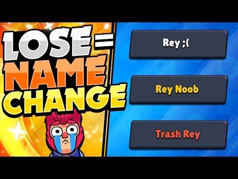 Name Change If I Lose Games In Brawl Stars!