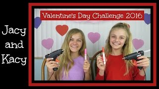 Valentine's Day Challenge 2016 ~ Jacy and Kacy