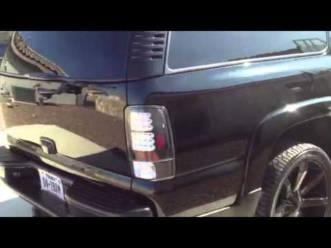 Chevy Suburban Z71 blacked out - YouTube