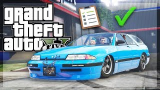 GTA 5 Online - TAKING A DRIVING TEST! (GTA 5 Funny Moments/Skits)