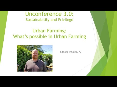 What's Possible in Urban Farming