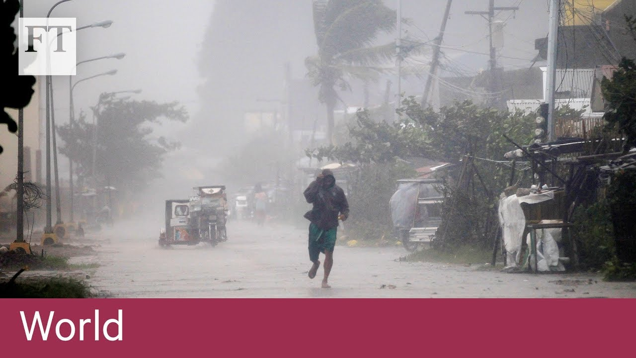 South-east Asia braces for Super Typhoon Mangkhut