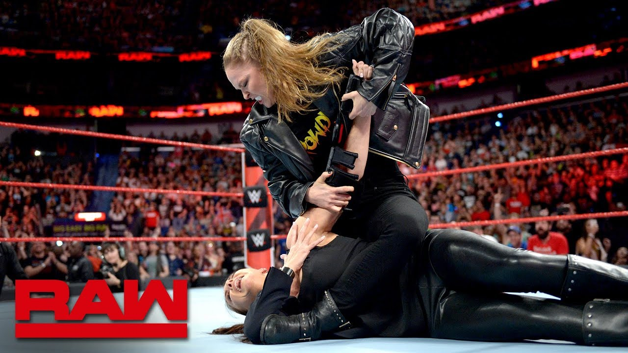 Stephanie McMahon Reveals Moment With Ronda Rousey, Becky ...