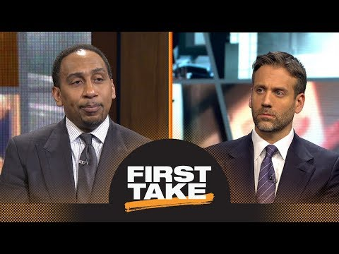 Stephen A. and Max react to Thunder losing to Jazz in first round of playoffs | First Take | ESPN