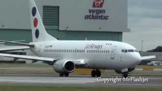 JAT Airways 737-300 - The Fleet - at London Heathrow Airport