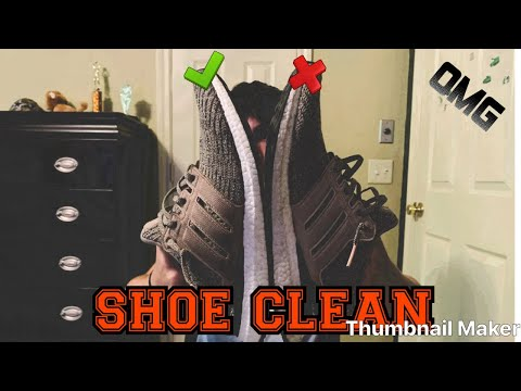 SHOE CLEAN(Ep.1)Ultra Boost!