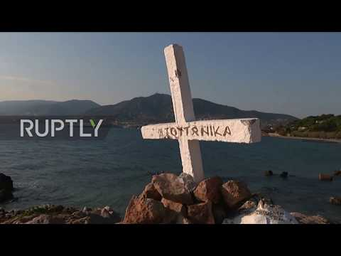 Greece: 'It was hatred' - Locals react to vandalised Cross in Lesbos
