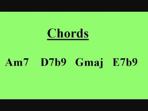 Latin Jazz Backing Track - G Major Progression
