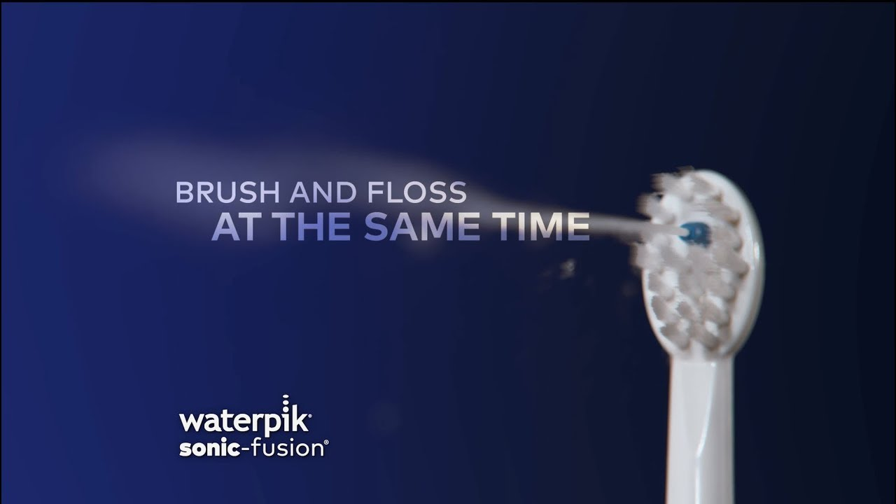 Sonic-Fusion® - The World's 1st Water Flossing Toothbrush