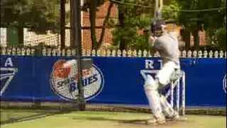 Guy Sebastian Plays Cricket With Nathan Bracken