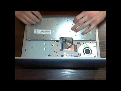 Как разобрать ноутбук леново z500