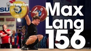 Video Max Lang (76.2kg, Germany) 156kg PR 2017 European Weightlifting Championships download MP3, 3GP, MP4, WEBM, AVI, FLV September 2017