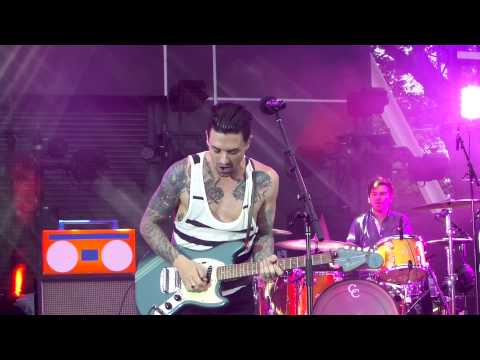 Dashboard Confessional - The Good Fight - Bayfront Park, Miami 06/06/2015