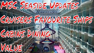 MSC Seaside Updates Plus Cruisers Favourite Cruise Ships From Cabins Dining Value