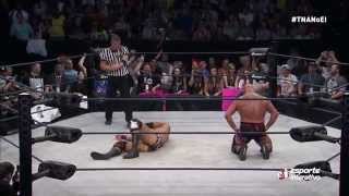 Ethan Carter III vs. Kurt Angle - TNA World Heavyweight Champ - TNA no Esporte Interativo